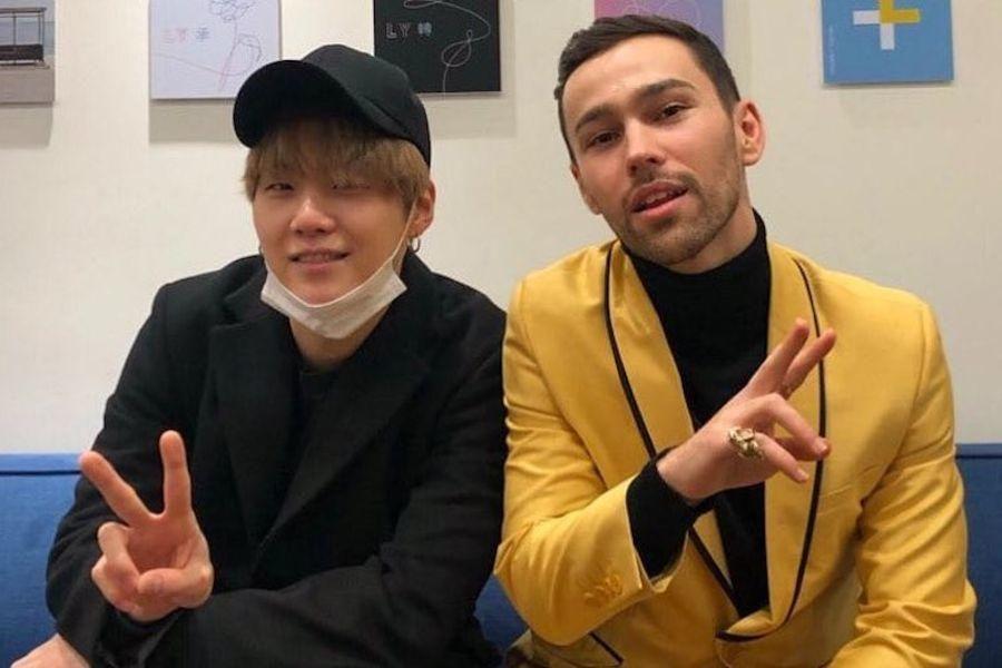 Les fans de Suga de BTS et MAX sont enthousiasmés à l'avance d'une nouvelle collaboration, faisant de «Blueberry Eyes» une tendance mondiale sur Twitter