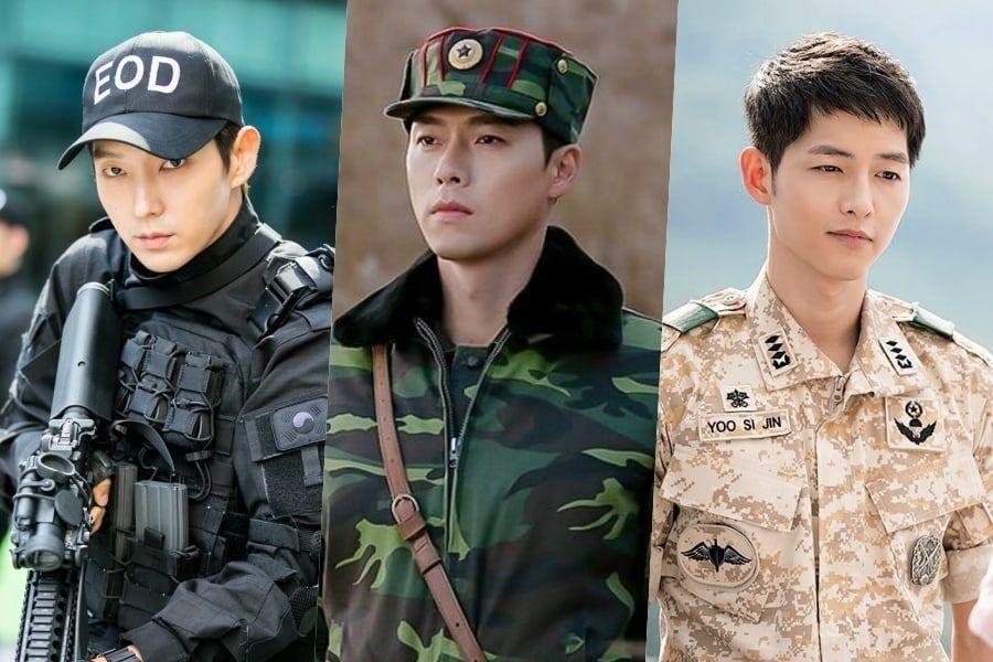 14 acteurs principaux de K-Drama qui ont l'air fantastique habillés en uniforme