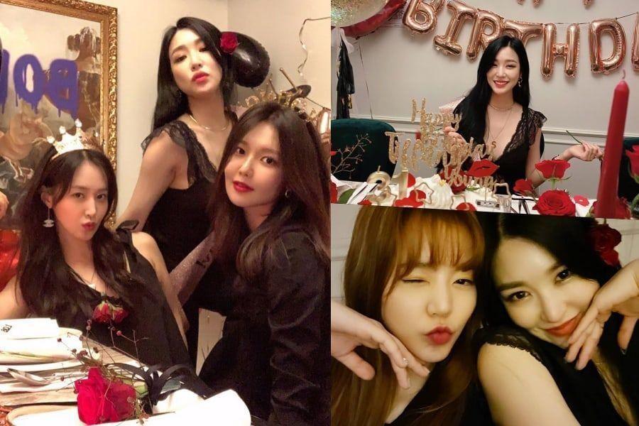 Girls 'Generation se réunit pour célébrer l'anniversaire et le 13e anniversaire de Tiffany depuis ses débuts