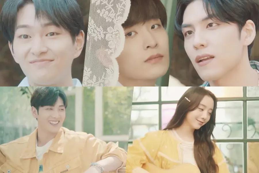 Onew, Youngjae, Wonpil, Baekho et Kei brillent dans les teasers de la comédie musicale