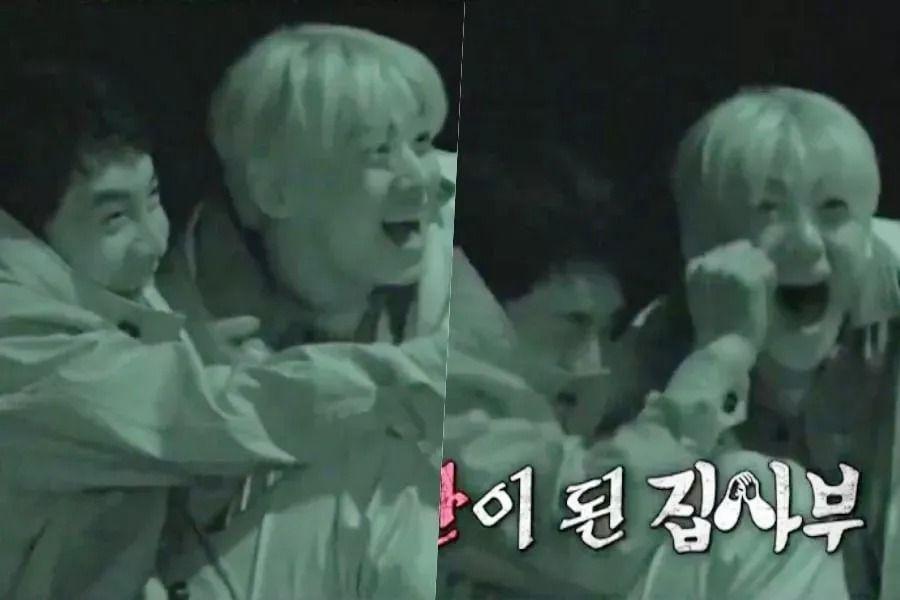 Cha Eun Woo et Lee Seung Gi d'ASTRO terrifiés dans un aperçu hilarant de «Master In The House»